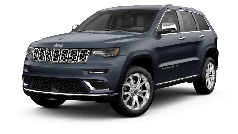 2020 Jeep Grand Cheerokee Summit in dark blue