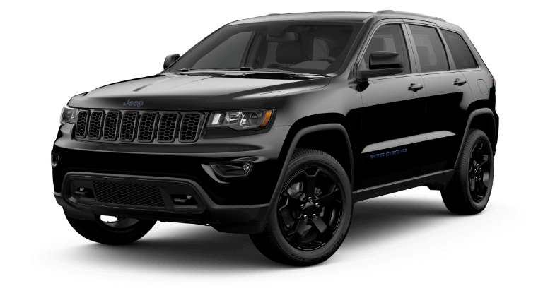 2020 Jeep Grand Cheeroke Upland in black