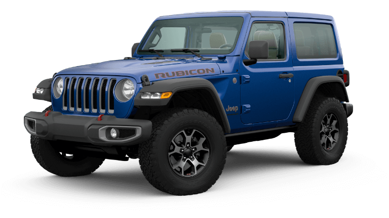 2020 Jeep Wrangler Rubicon in dark blue