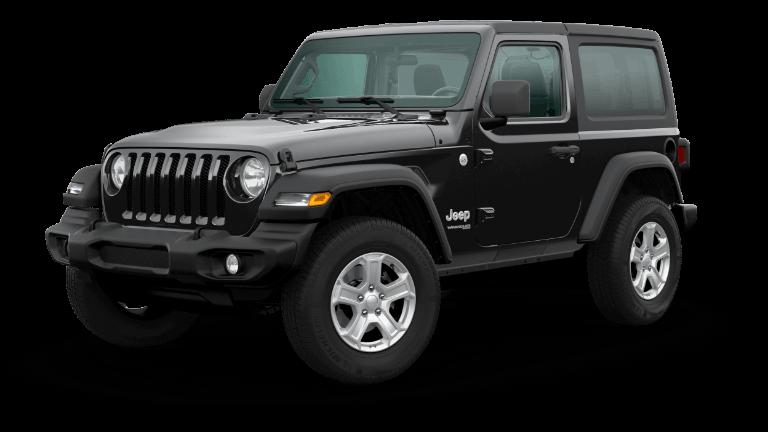 2020 Jeep Wrangler Sport S in black