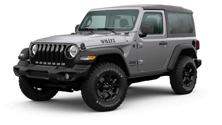 2020 Jeep Wrangler Willys in gray