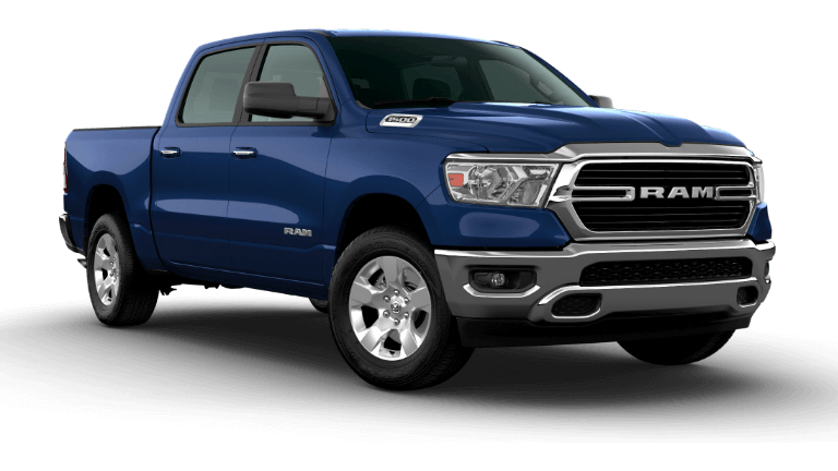 2020 Ram 1500 Big Horn in patriot blue