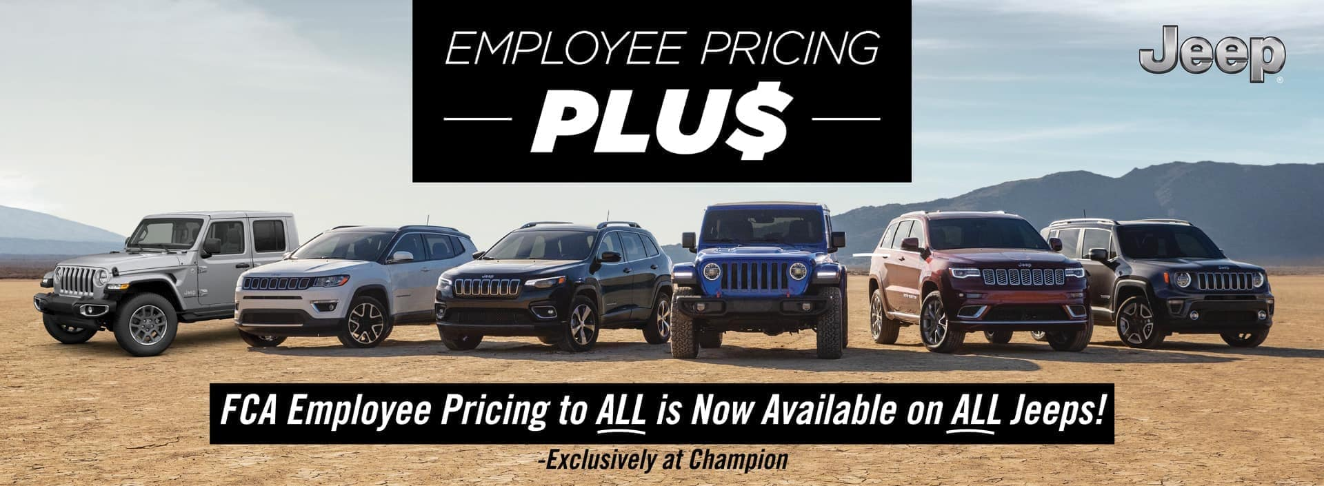 Jeep Employee Pricing
