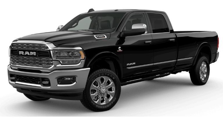 2019 Ram 2500 Limited - Diamond Black