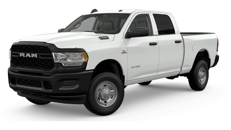 2019 Ram 2500 Tradesman - Bright White