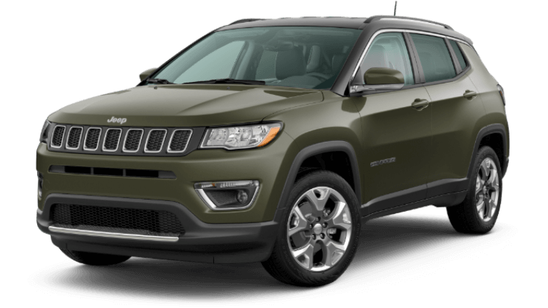 2020 Jeep Compass Limited - Olive Green