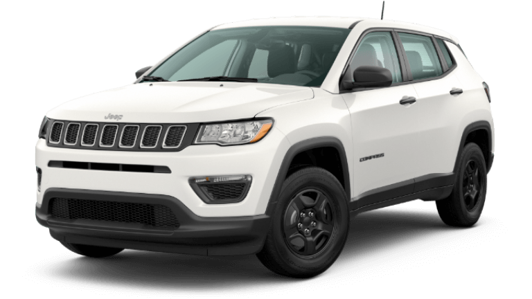 2020 Jeep Compass Sport - White