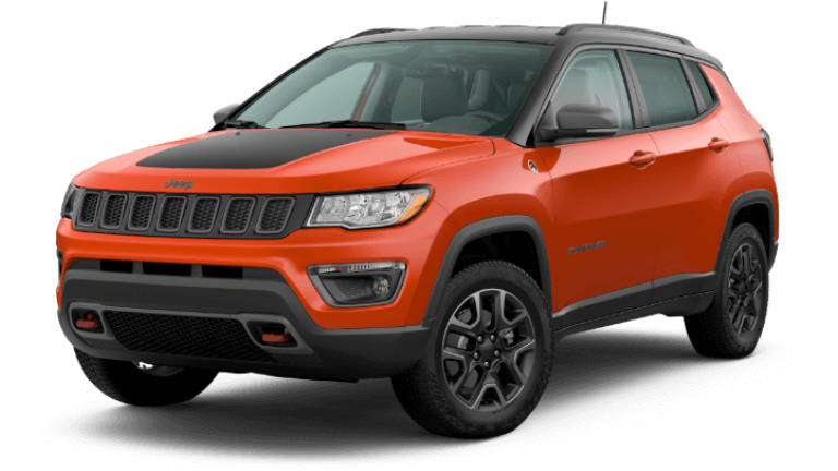 2020 Jeep Compass Trailhawk - Spitfire Orange