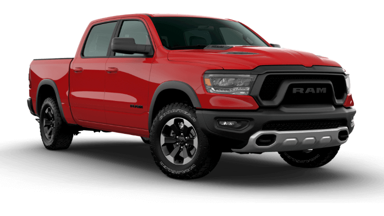 2020 Ram 1500 Rebel - Flame Red