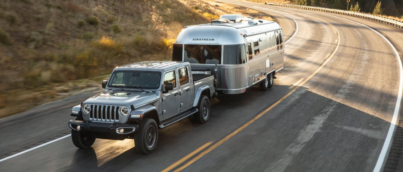 2020 Jeep Gladiator on road