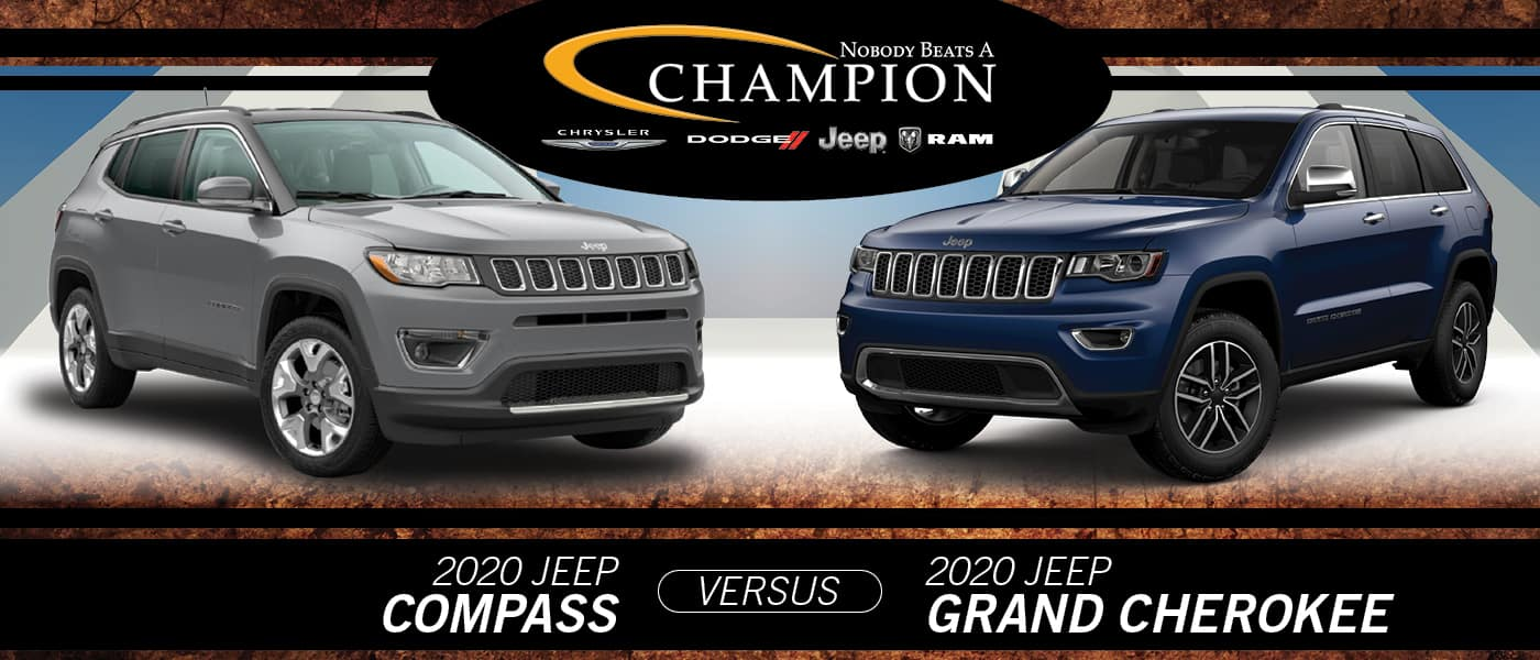 2020 Jeep Compass vs. Grand Cherokee