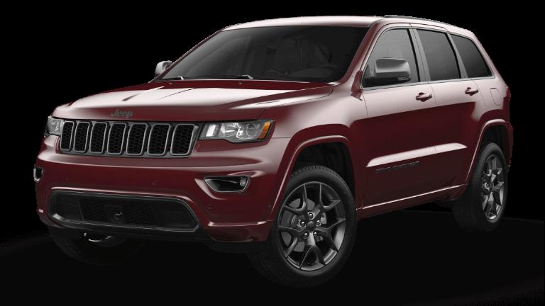 2021 Jeep Grand Cheerokee 80th Anniversary