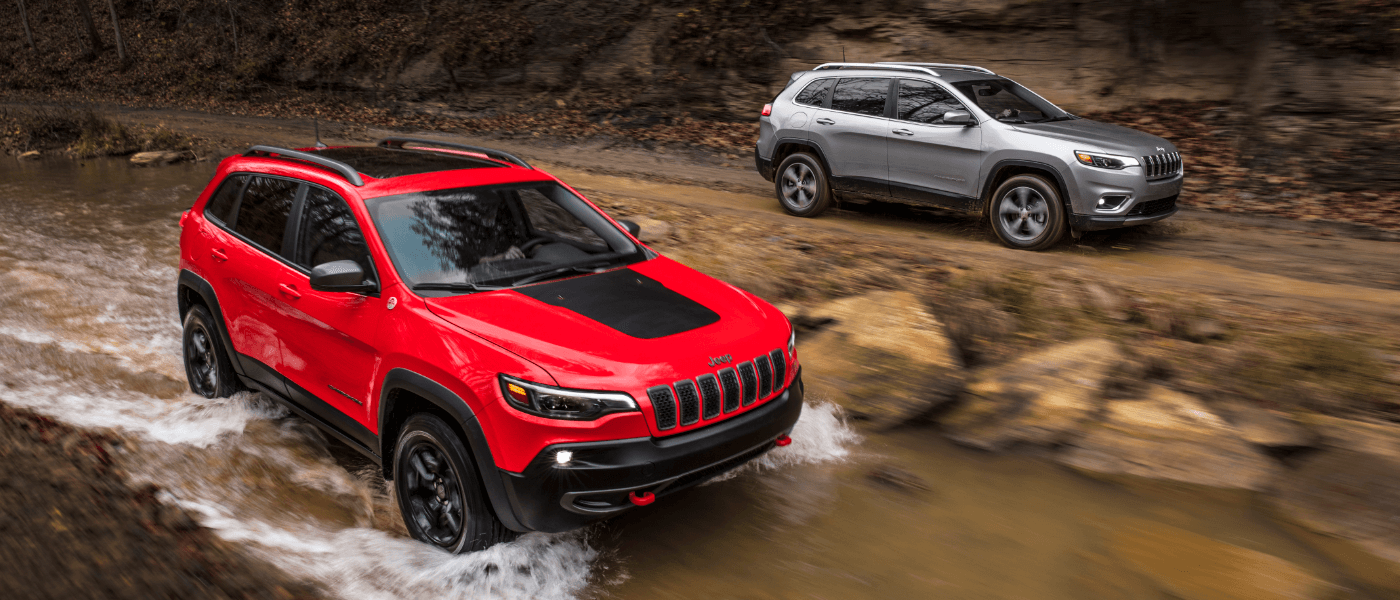 2021 Jeep Cherokee Trim Comparison