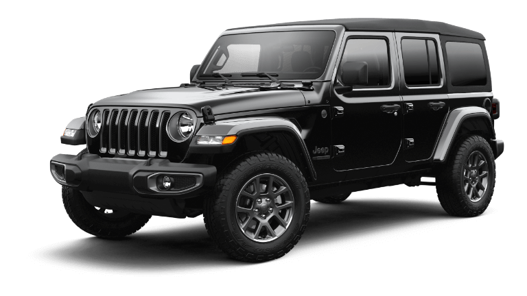 2021 Jeep Wrangler 80th Anniversary Black
