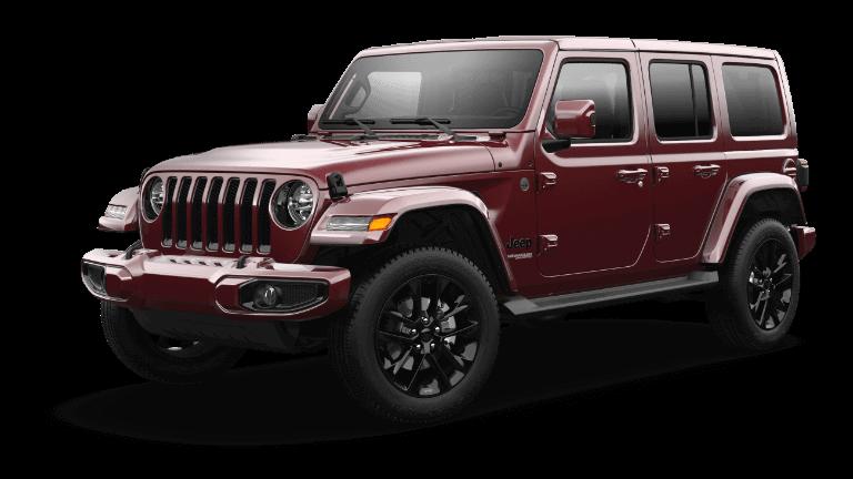 2021 Jeep Wrangler Freedom Snazzberry