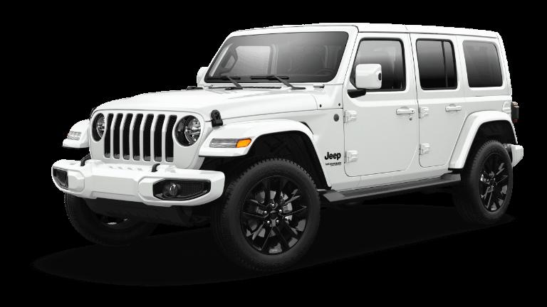 2021 Jeep Wrangler High Altitude Bright White