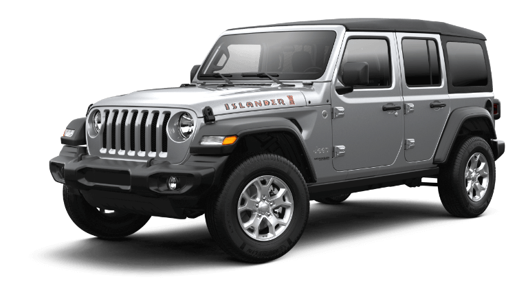 2021 Jeep Wrangler Islander BilletSilver