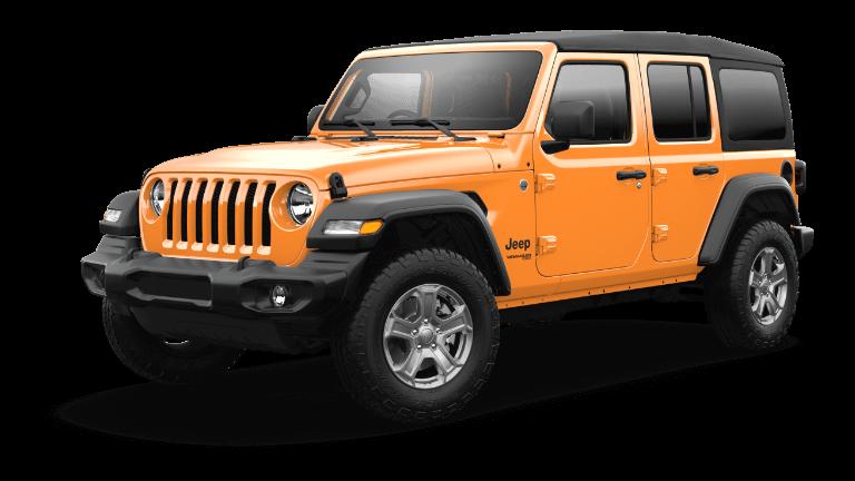 2021 Jeep Wrangler RHD Nacho Jellybean