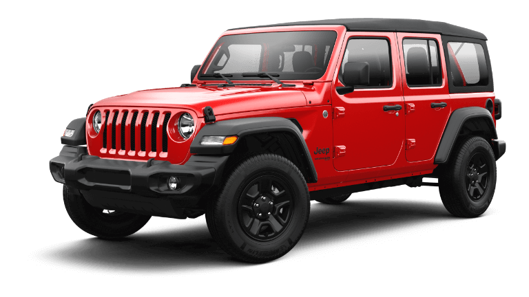 2021 Jeep Wrangler Sport - Firecracker Red