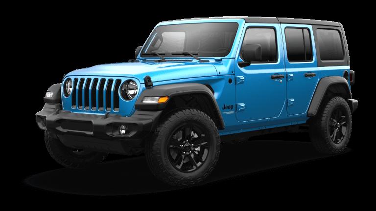2021 Jeep Wrangler Sport Altitude Hydro Blue Jellybean