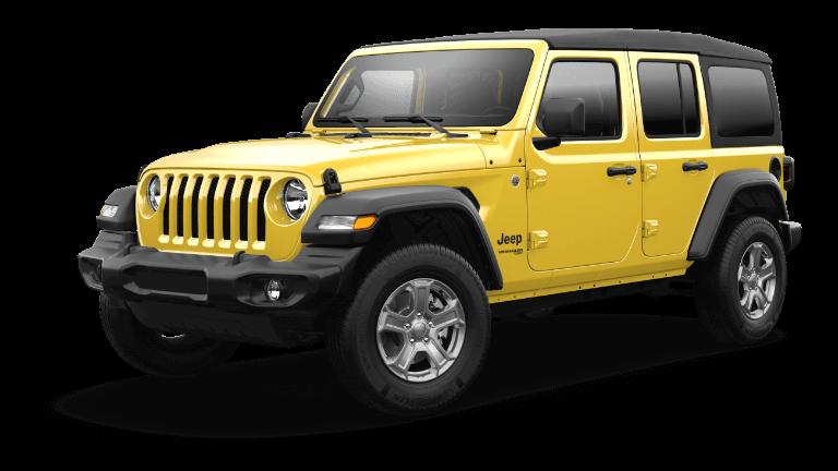 2021 Jeep Wrangler Sport S Hellayella Jellybean
