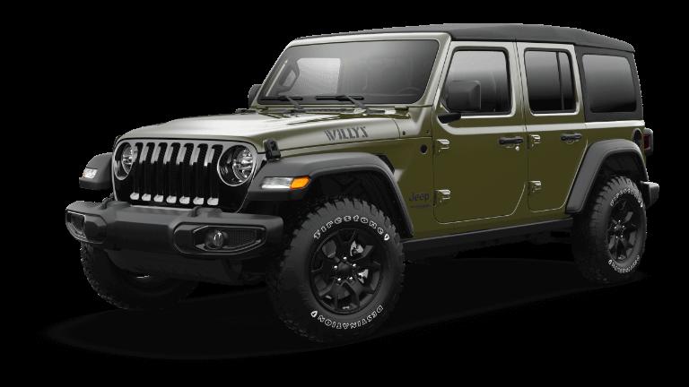 2021 Jeep Wrangler Willys Sarge Green Jellybean