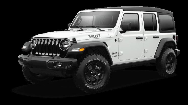 2021 Jeep Wrangler Willys Sport Bright White Jellybean