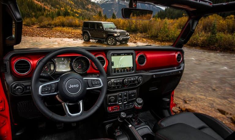2021 Jeep Wrangler Front Interior