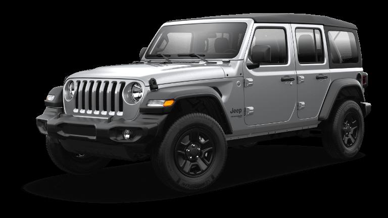 2021 Jeep Wrangler Billet Silver