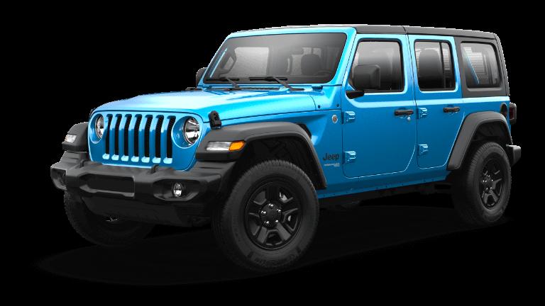 2021 Jeep Wrangler Sport Hydro Blue Jellybean