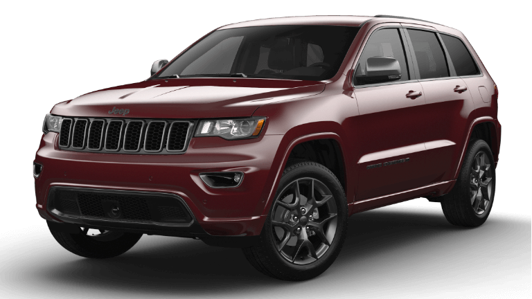 2021 Jeep Grand Cherokee 80th Anniversary