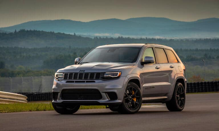 2021 Jeep Grand Cherokee Exterior Test Track