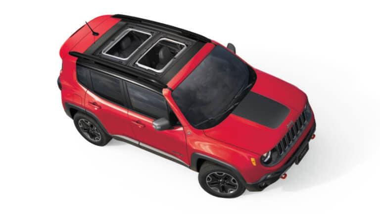 2021 Jeep Renegade Exterior Overhead