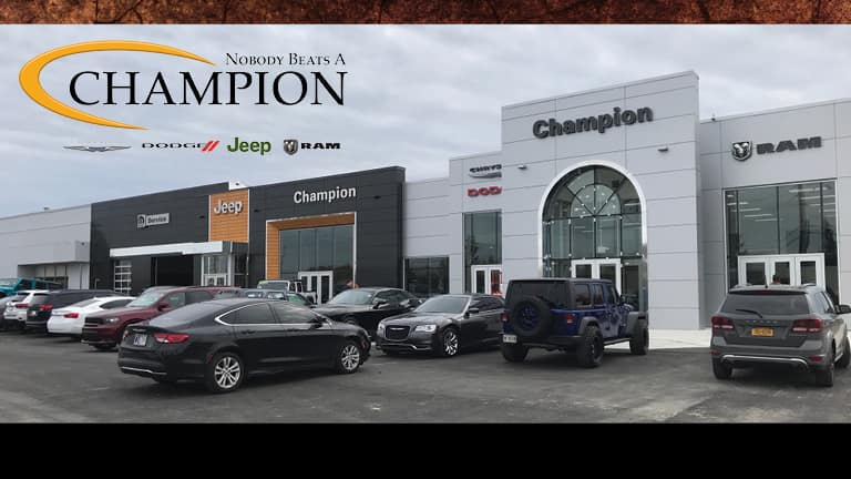 Used and Certified Pre-Owned CDJR for sale in Indianapolis, IN - Champion CDJR