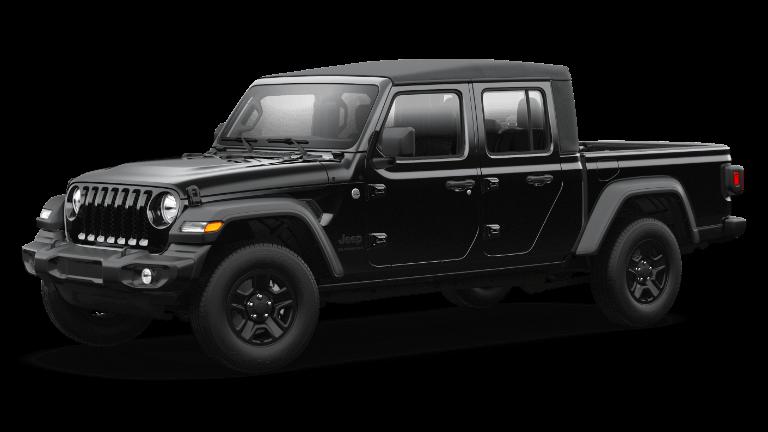2021 Jeep Gladiator Black Clear-Coat