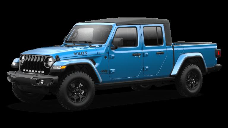 2021 2021 Jeep Gladiator Willys