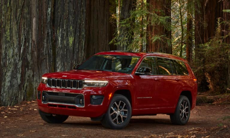 2021 Jeep Grand Cherokee L Color Options - Champion CDJR