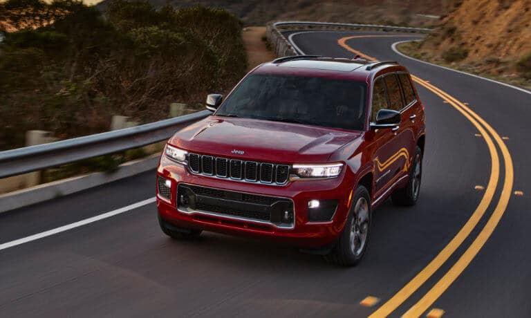 2021 Jeep Grand Cherokee L Engine Options & Specs in Indianapolis, IN