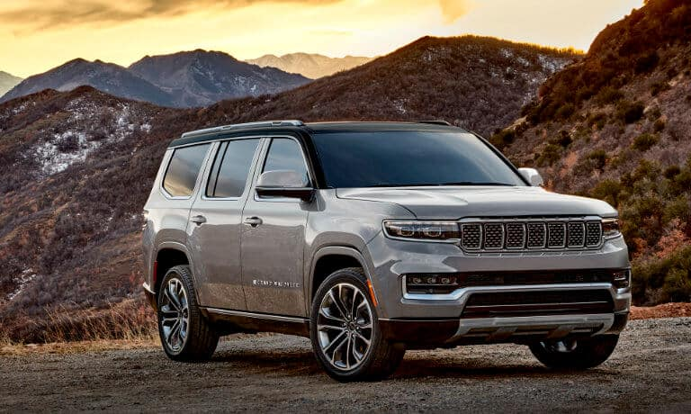 2022 Jeep Grand Wagoneer Exterior Design & Color Options in Indianapolis, IN