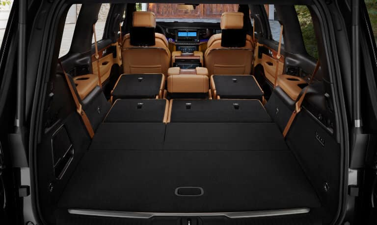 2022 Jeep Grand Wagoneer Interior Features and Cargo Space in Indianpolis, IN