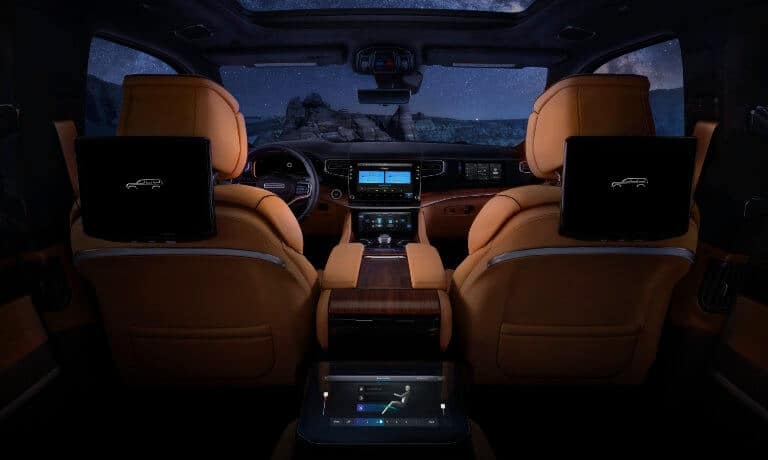 2022 Jeep Grand Wagoneer Safety & Technology with view of Infotainment in Indianapolis, IN