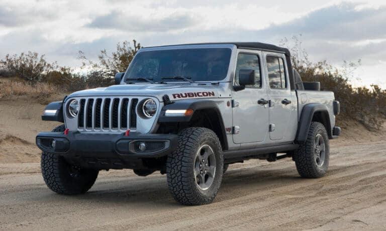 Jeep Gladiator exterior in the desert