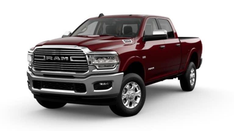 2021 Ram 2500 Laramie exterior