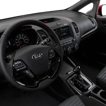 2018 Kia Forte steering wheel