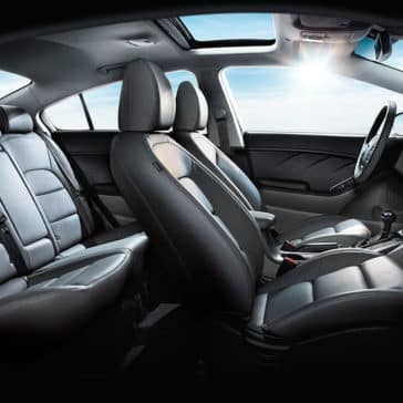 2018 Kia forte seating