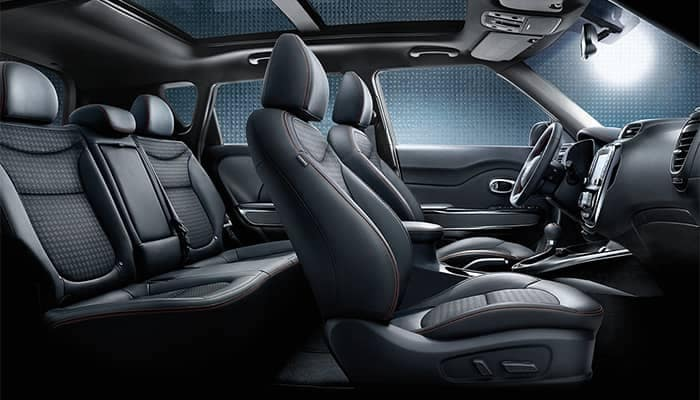 2019 Kia Soul Interior Seating and Features