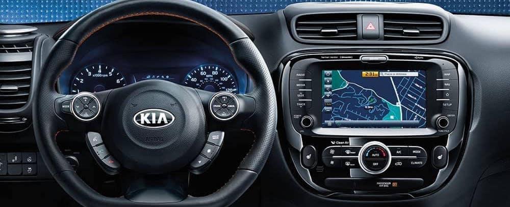 2019 Kia Soul Interior Features Interior Technology Coastal Kia