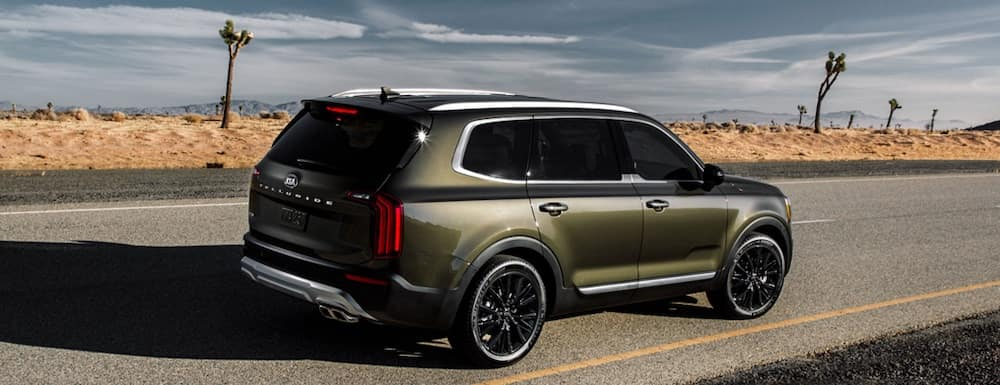 2020 Kia Telluride Interior Features Coastal Kia