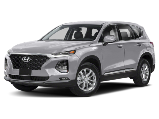 2019 Hyundai Santa Fe in gray