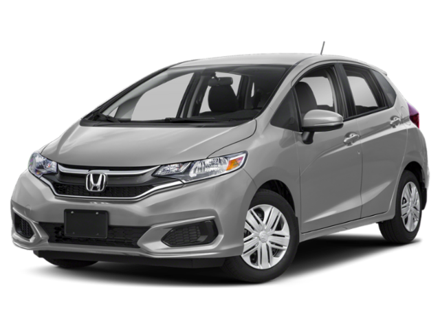 2019 Honda Fit in gray